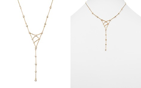 Diamond Station Geometric Lariat Necklace in 14K Yellow Gold, .70 ct. t.w. - 100% Exclusive - Bloomingdale's_2